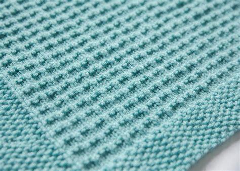 b knit textured knit baby blanket knitting pattern by leeleeknits