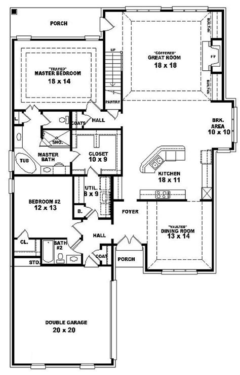 4 bedroom house plans 1 story 654287 one and a half story 4 bedroom 3 bath