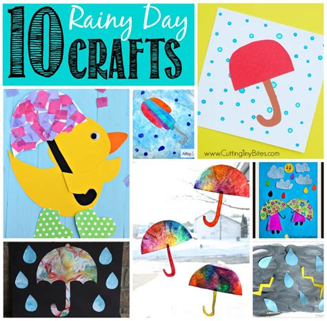rainy day crafts for 10 rainy day crafts
