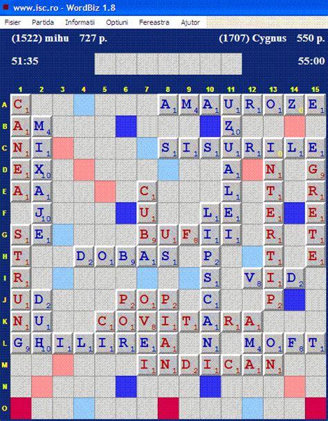 dex scrabble s a jucat azi pe isc septembrie 2009