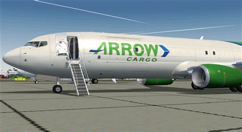 Engine Check Light by Arrow Cargo Boeing 737 900f For Fsx