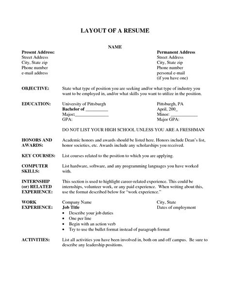 resume layouts free resume layout resume cv