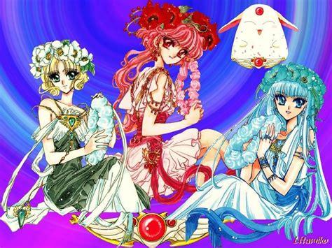 magic rayearth pretty magic knights rayearth photo 10898861