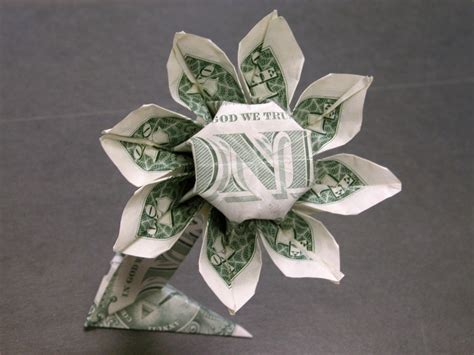 dollar folding origami dollar money origami flower money dollar origami