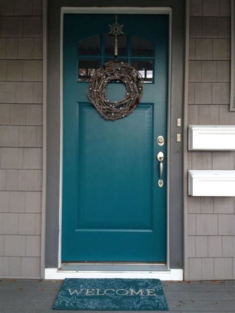 best paint for exterior doors 25 best ideas about turquoise front doors on