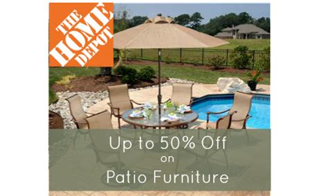 home depot patio furniture sale home depot patio furniture up to 50 southern savers