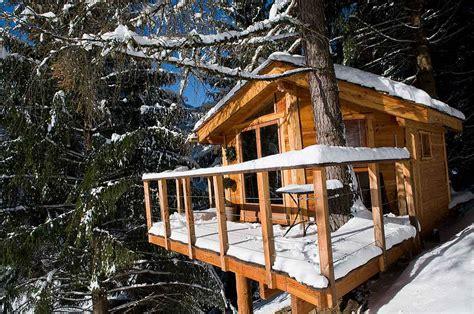la cabane dans les arbres et le chalet dans les arbres jean d aulps station de ski