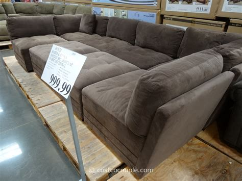 modular sectional sofa costco marks and cohen hayden 8 modular fabric sectional