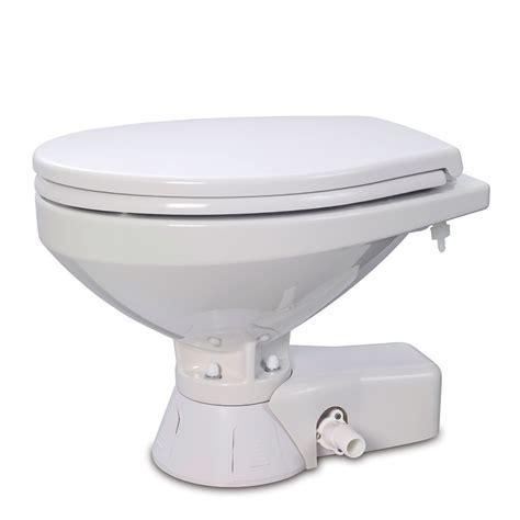 Jabsco Toilet Cleaner by Jabsco Quiet Flush Freshwater Toilet Compact Bowl 12v