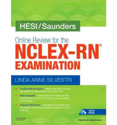 hesi comprehensive review for the nclex rn examination e book hesi saunders review for the nclex rn examination