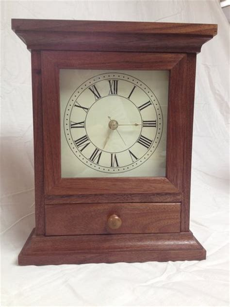 clocks for woodworking projects mantel clock with free plans by randy sharp