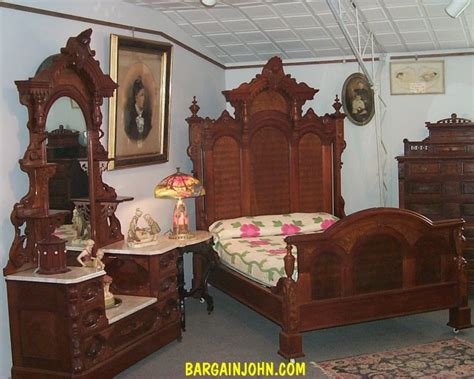 antique walnut bedroom furniture bargain s antiques 187 archive outstanding two