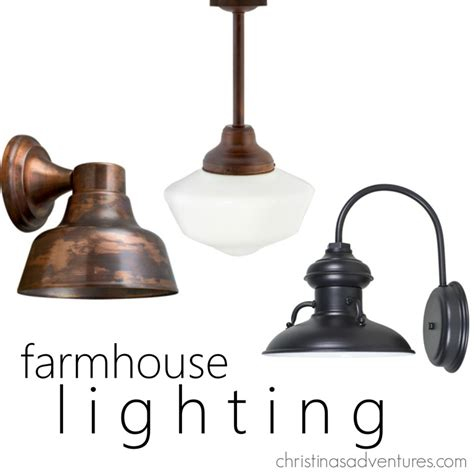 outdoor farmhouse lighting farmhouse entry inspiration christinas adventures