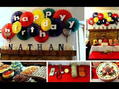 ideas at home birthday decoration ideas at home