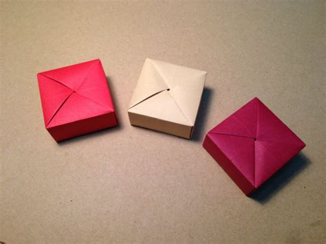 origami things for free coloring pages origami gift box with one sheet of