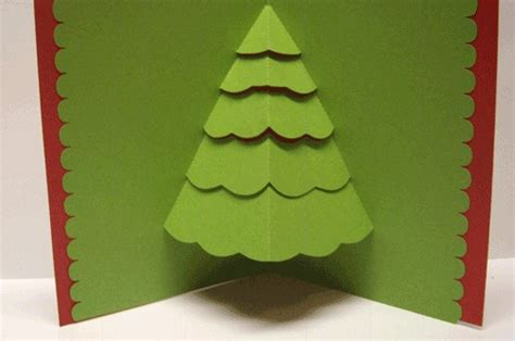 pop out tree card pop up tree card card ideas