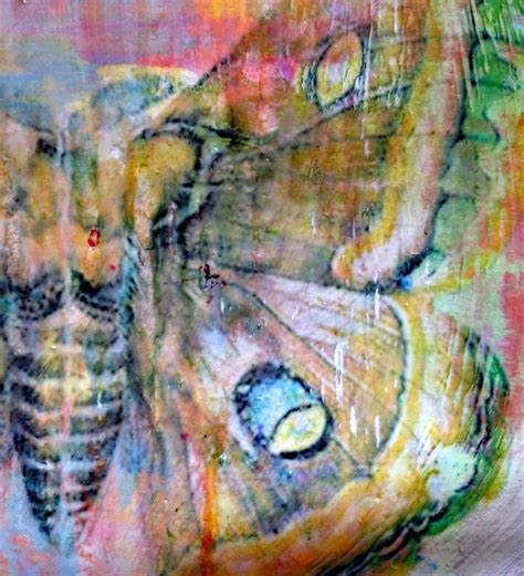 acrylic paint transfer butterfly detail julie gibbons creative