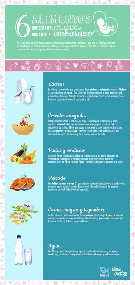 alimentos en embarazo alimentos aliados durante el embarazo mas nutricion