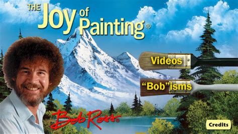 bob ross painting app bob ross for iphone on the app store