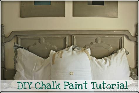 diy chalk paint using plaster of from gardners 2 bergers diy chalk paint tutorial