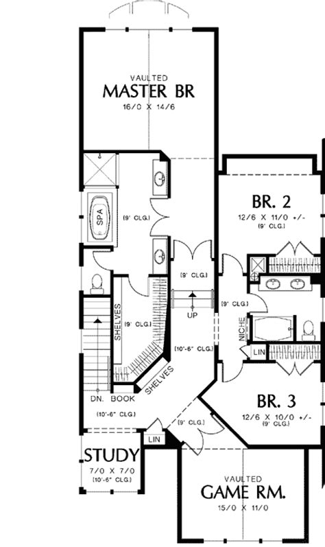 floor plans for narrow lots new style narrow lot plan 69089am architectural designs house plans
