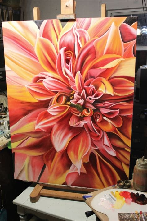 make flower painting painting tips and demos from my easel