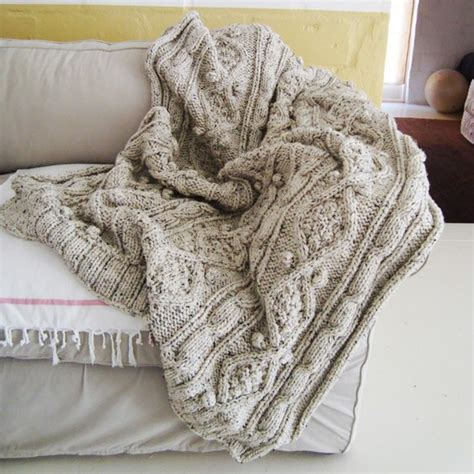 cable knit throw blanket items similar to chunky oatmeal cable knit throw on etsy