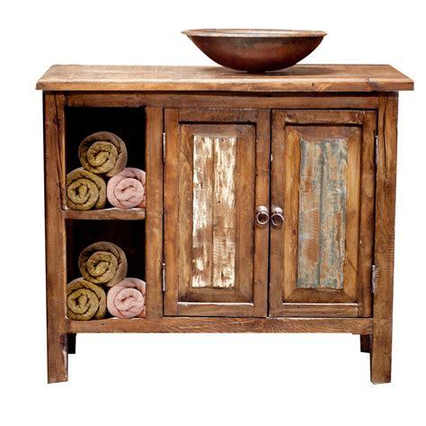 rustic wood bathroom vanity reclaimed wood bathroom vanity by foxdendecor on etsy