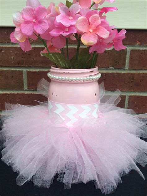baby shower crafts for pink tutu jar craft for baby shower pictures photos