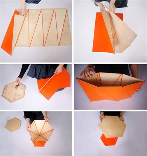 origami creative concepts 折り紙のように折り上げて形成するインテリア playtime collection designworks