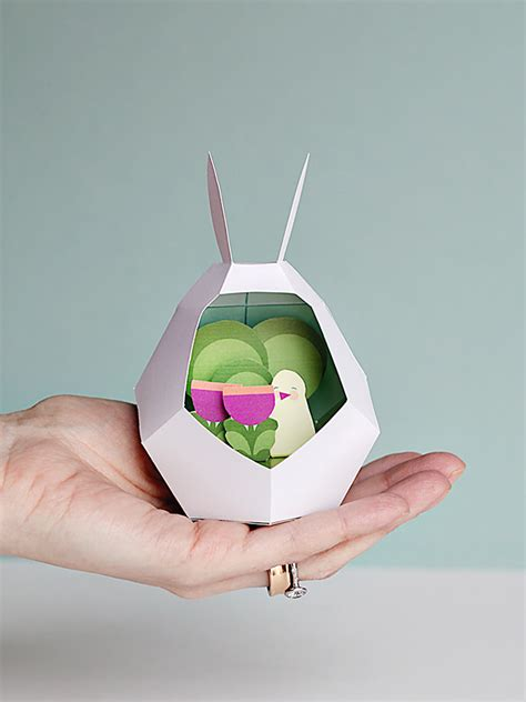 easy crafts for with paper easy easter with bunny paper printables handmade