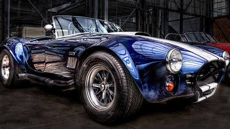 Classic Car Wallpaper Set by Wallpaper Cobra Cabrio Classic Car Blue