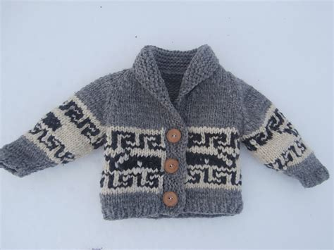 Knitting Patterns Galore Northern Whale Cowichan Sweater