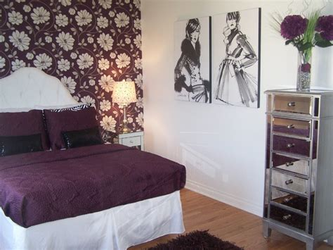 fashion bedroom in plum bedroom cleveland