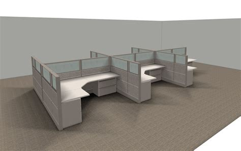 glass office furniture cubicle with glass office furniture ethosource