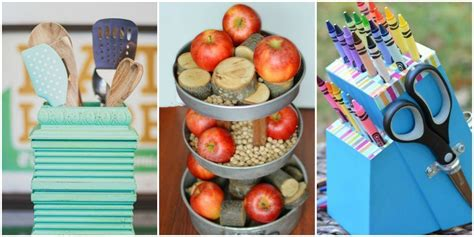 trash to treasure crafts for upcycled home projects repurposed diy ideas