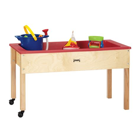 water sensory table preschool activity portable sand and water play