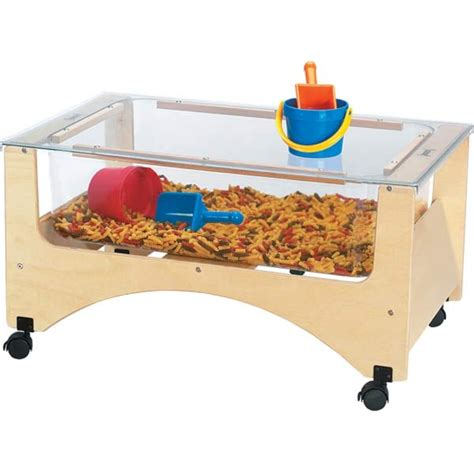 water sensory table cover for see thru sensory table fits 2871jc 2872jc