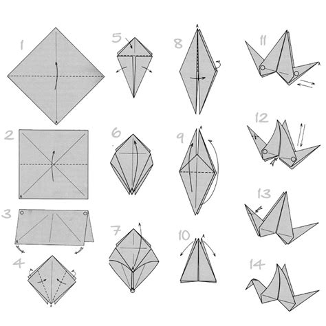 how to fold origami doodlecraft origami flapping paper crane mobile