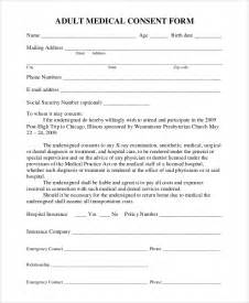 sample medical consent form 9 examples in pdf word