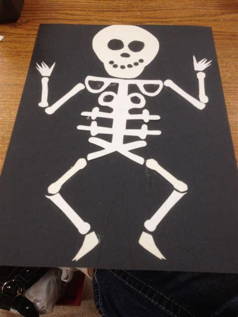 skeleton craft for 17 best images about skeleton crafts for on