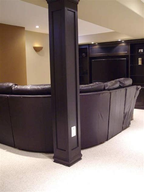 post covers for basement 1000 ideas about basement pole covers on