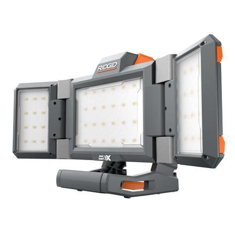 led rigid lights 3 new ridgid genx5 18v led lights tool craze