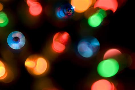 chrsitmas lights photo of defocused lights free images