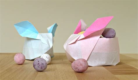 easter origami bunny hop to it and get crafting for easter hello deborah