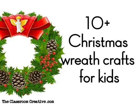 wreath craft for wreath preschool worksheet best free