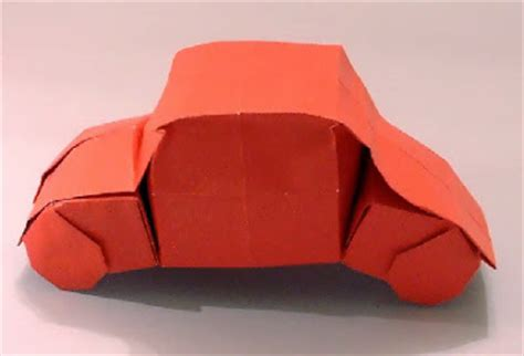 origami 3d car origami car gimeno 3d make easy paper crafts