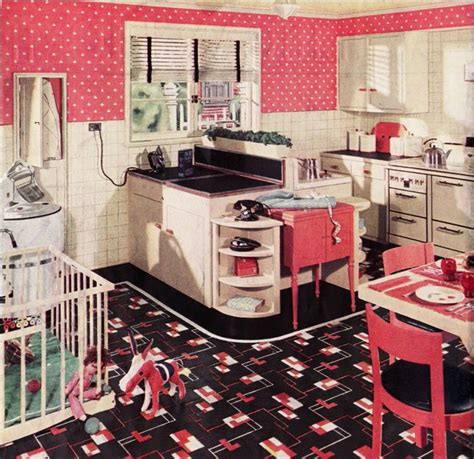 Vintage Kitchen Theme by Retro Kitchen Design Sets And Ideas