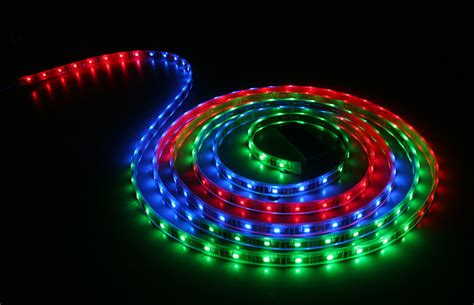 led rgb lighting waterproof color chasing led light strips with multi color