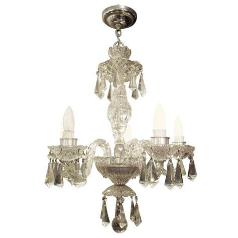 german chandeliers 1940s five arm german lead chandelier at 1stdibs
